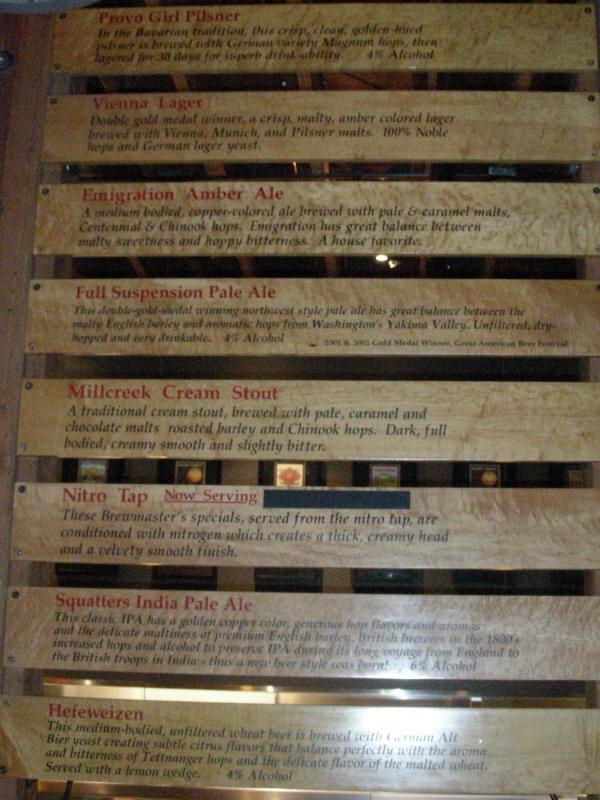 Tap List (partial) - 04/08