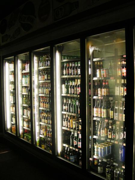 Long beer cooler