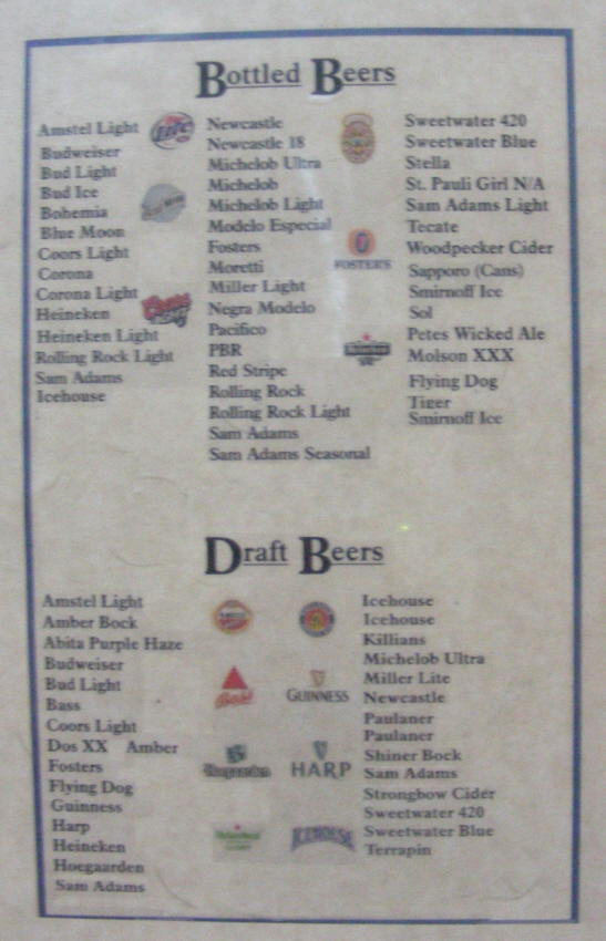 Generic brew list