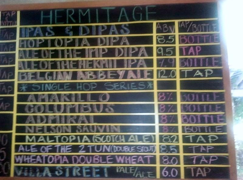 Hermitage brews