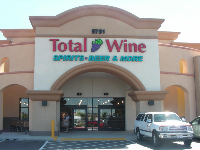 Total Wine entry
