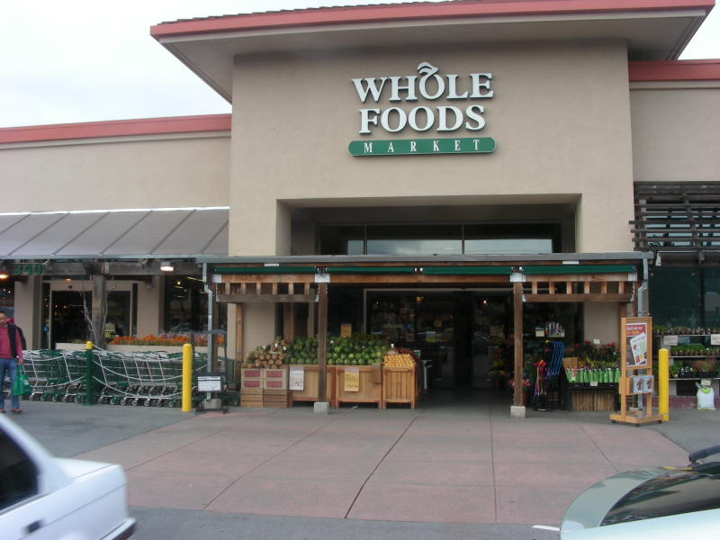Whole Foods San Rafael entry