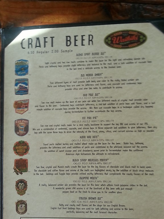 Brew List 1215