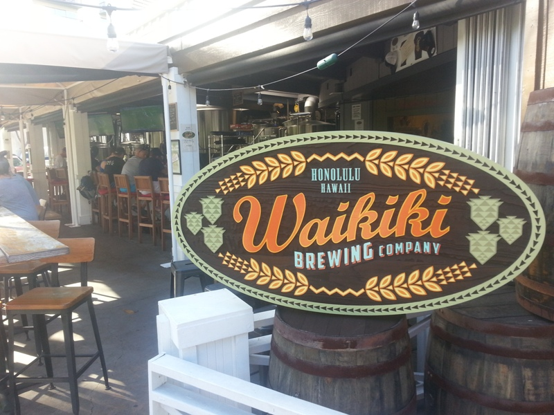 Waikiki Brewing entry