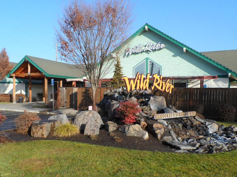 Wild River Medford sign and entry