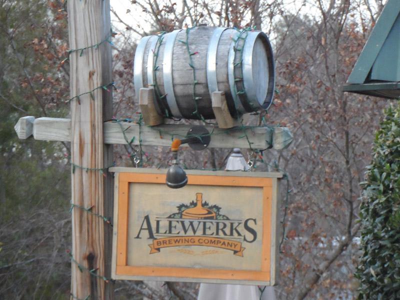 AleWerks sign