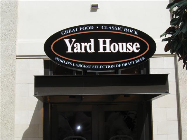 Yard House Entry