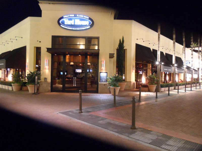 Yard House Newport entry