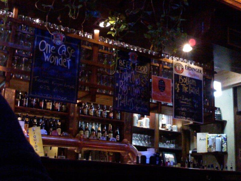 Menu, blackboards, or just ask: The Bull & Castle Beerhall