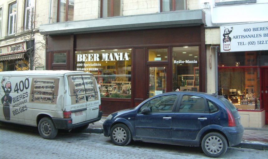 Look for the nun: Beer Mania and its van