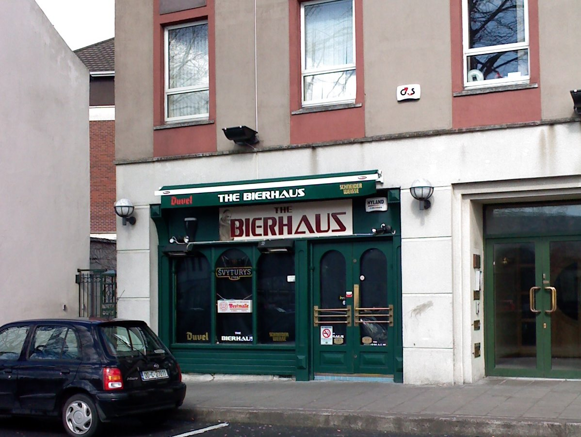 Wot no Murphy's?: The Bierhaus