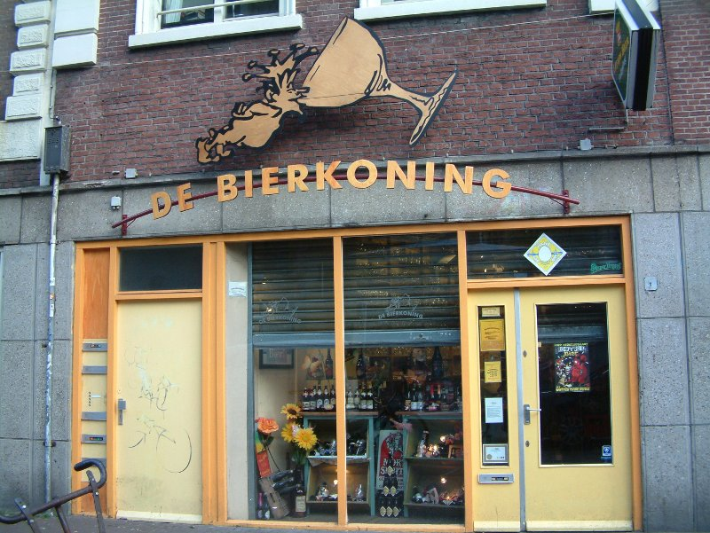 The beer's inside: Bierkoning.
