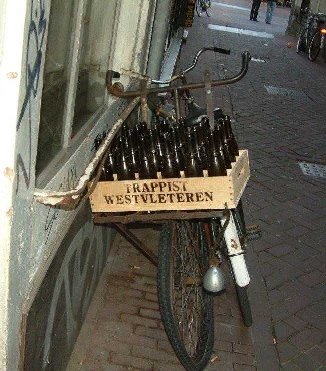 Jump on!: Cracked Kettle's Westvleteren bike