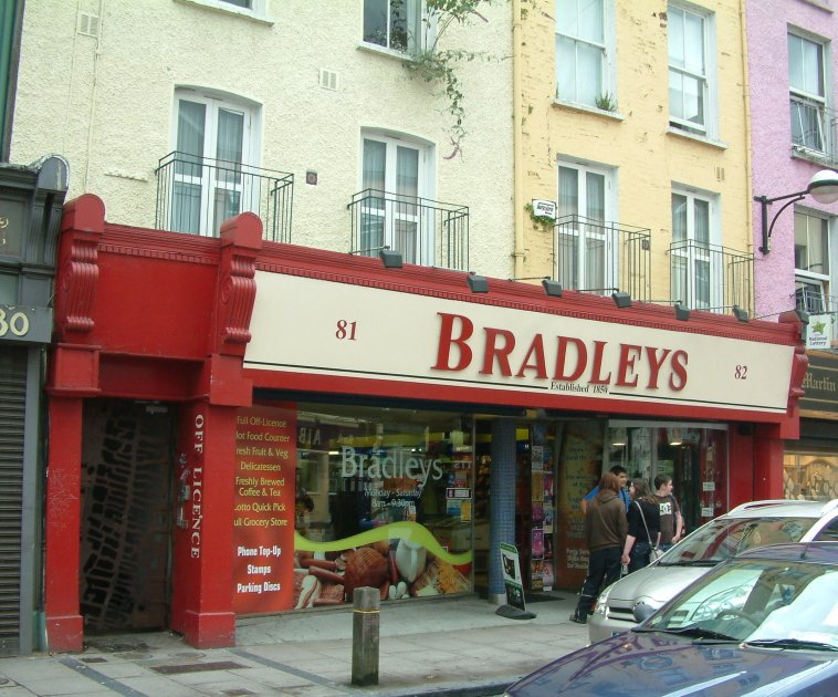 With a tree growing out of the upper floors: Bradley's