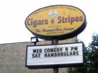 The sign. Hamburglars!