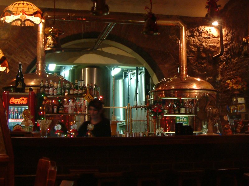 Tanks a lot: Bar and brewery at CK Browar