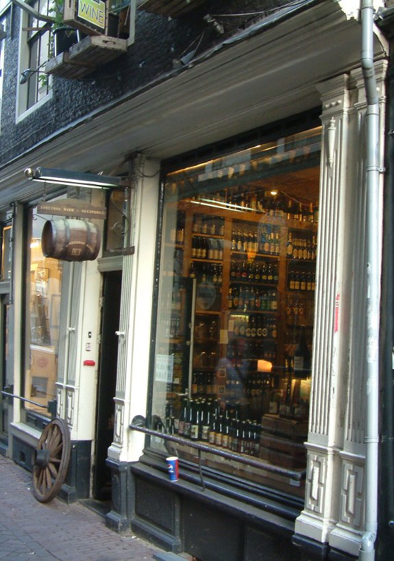 What's in stock?: window shopping at The Cracked Kettle