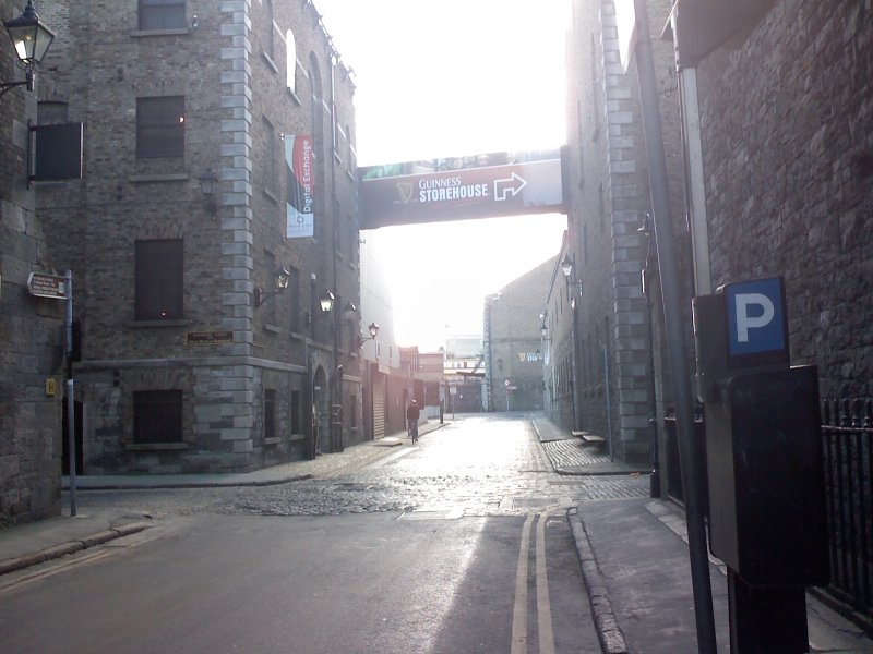 Belly of the beast: Crane Street in the James's Gate complex