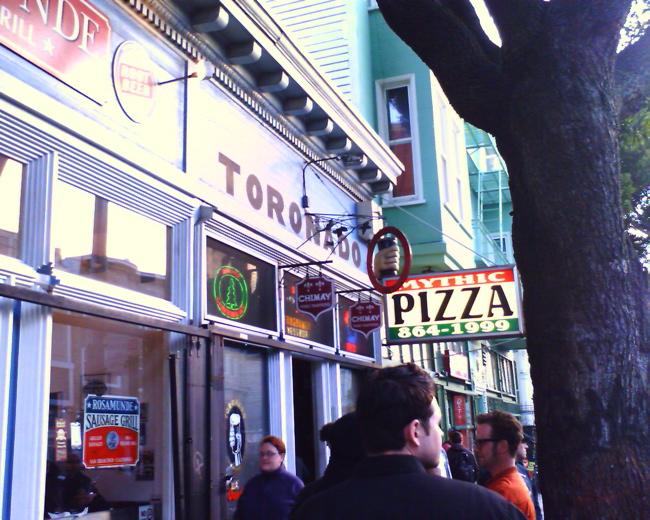 Toronado's Outside