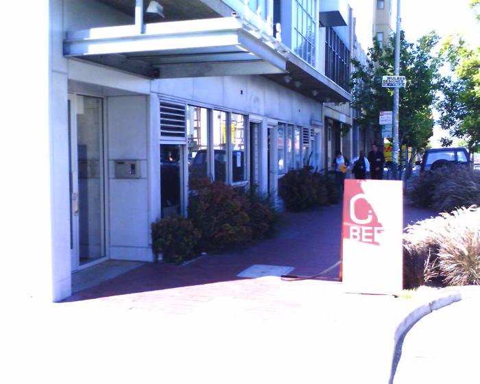 City Beer Store's unassuming exterior