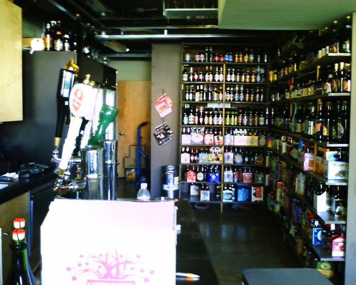 City Beer's Taps and some of the bottles