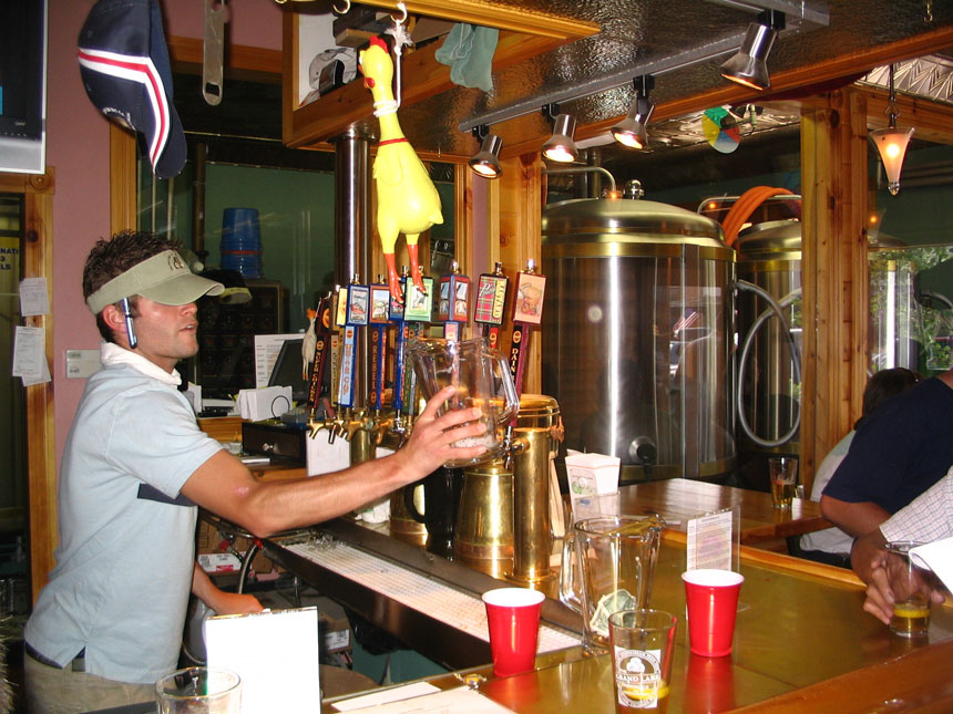 Grand Lake Brewing Co Bartender