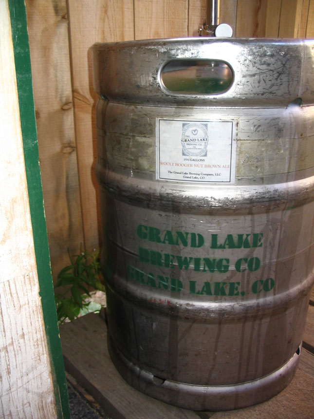 Grand Lake Brewing Co Half Barrel Keg
