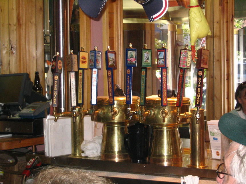 Grand Lake Brewing Co Brass Faucet Towers