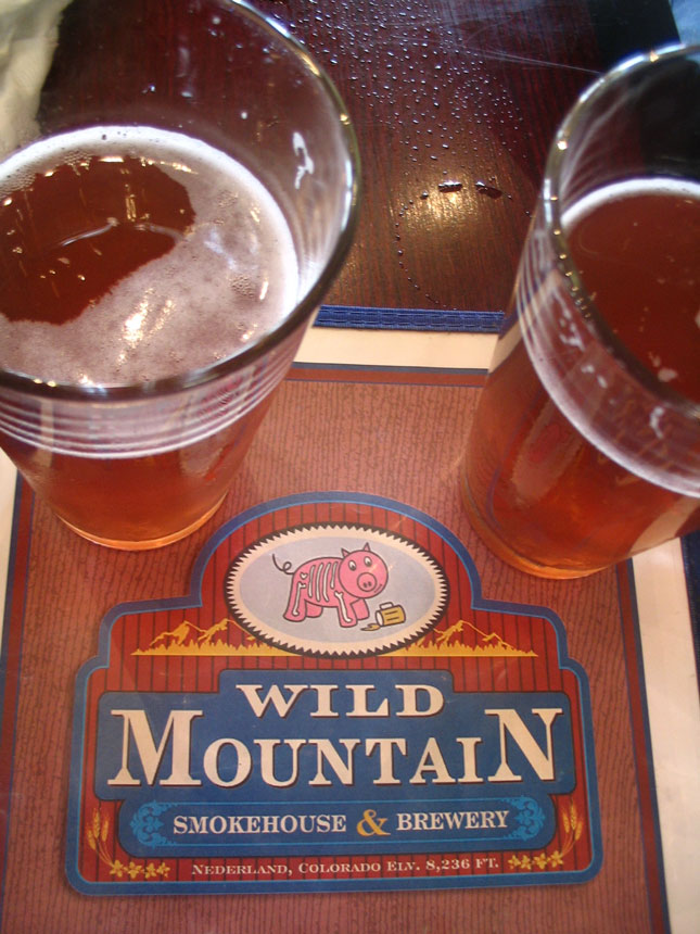Wild Mountain Beers and Menu