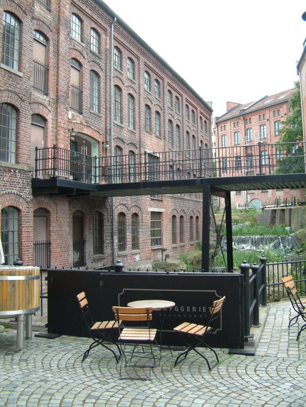 It used to be a factory: Møllebyen