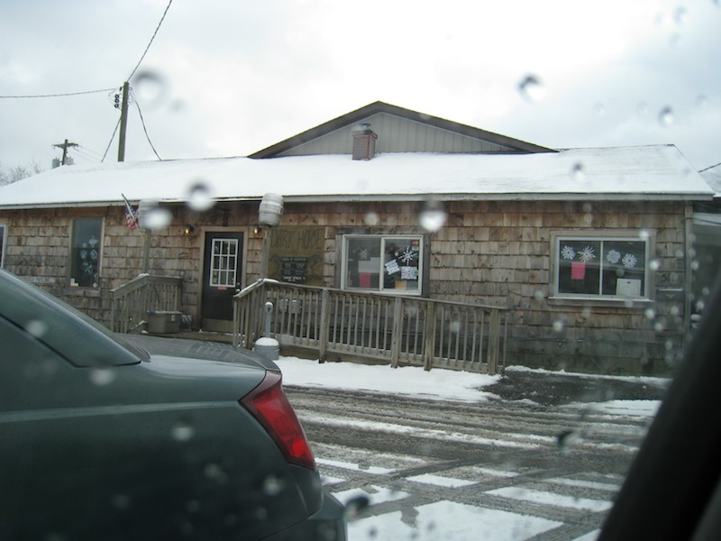 Dark Horse pub from the outside
