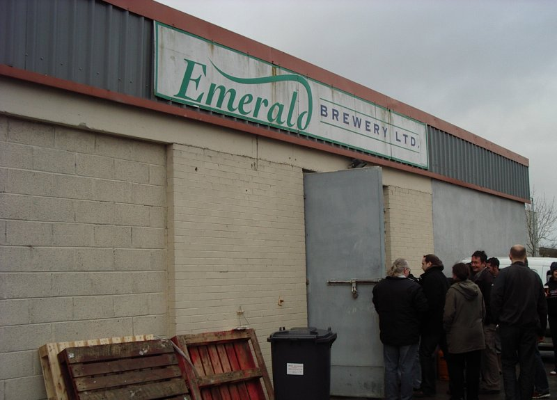 The reanimated corpse of the Emerald Brewery: outside Hooker Brewery