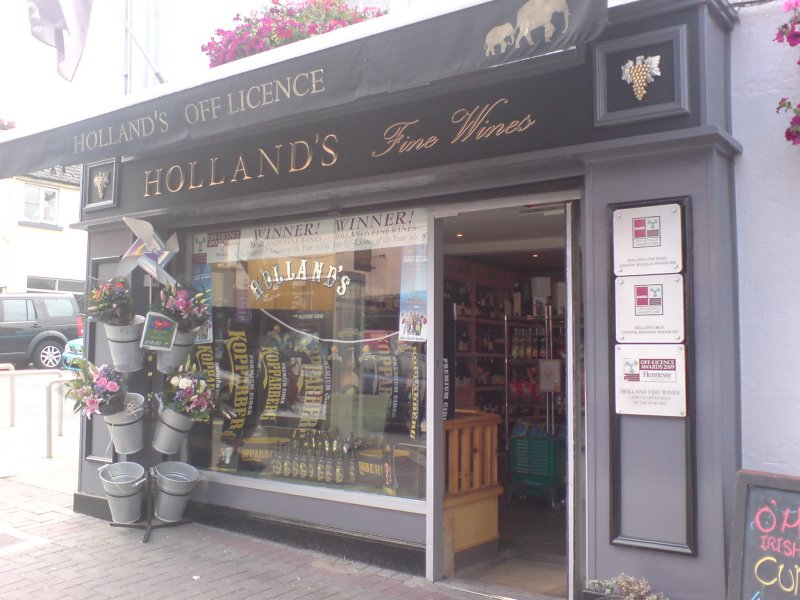The award-winning Holland's of Bray