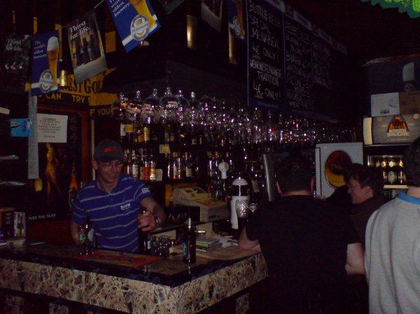 Catholic tastes: a variety of breweriana at the Abbot's