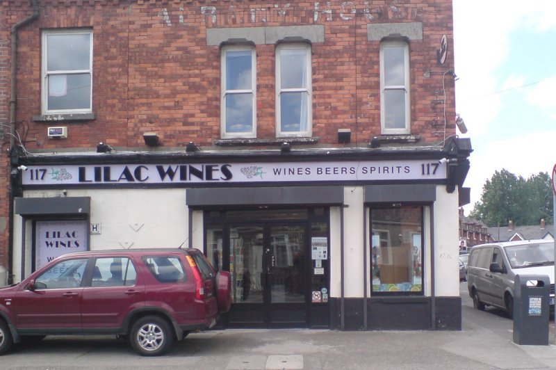 It's Lilac all right: the front of Lilac Wines