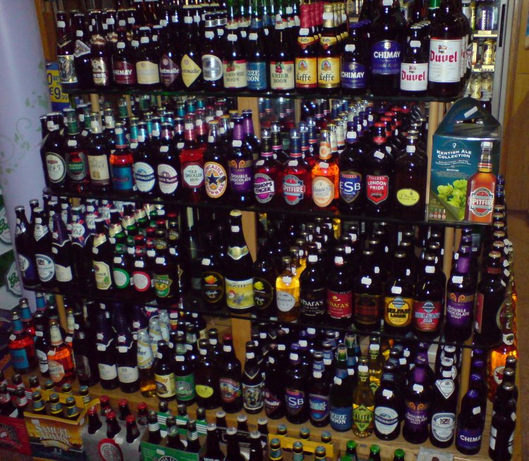 Tower of Drunken Babble: some of the selection at Lilac Wines