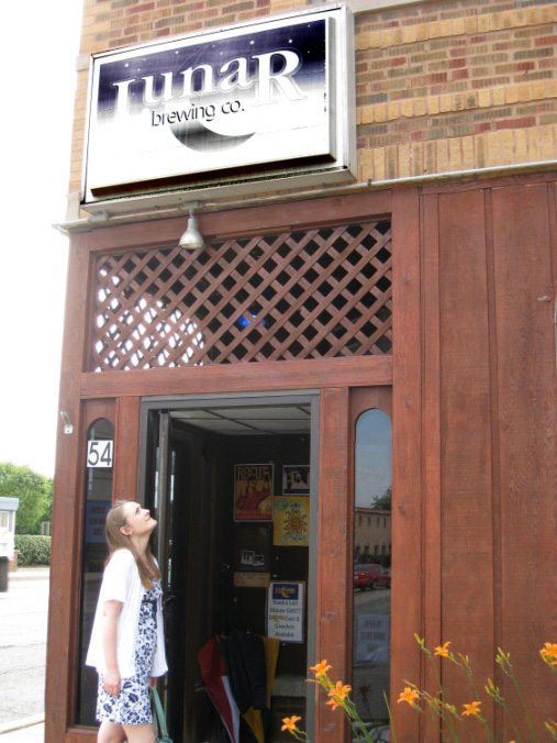 Lunar Brewing front entrance