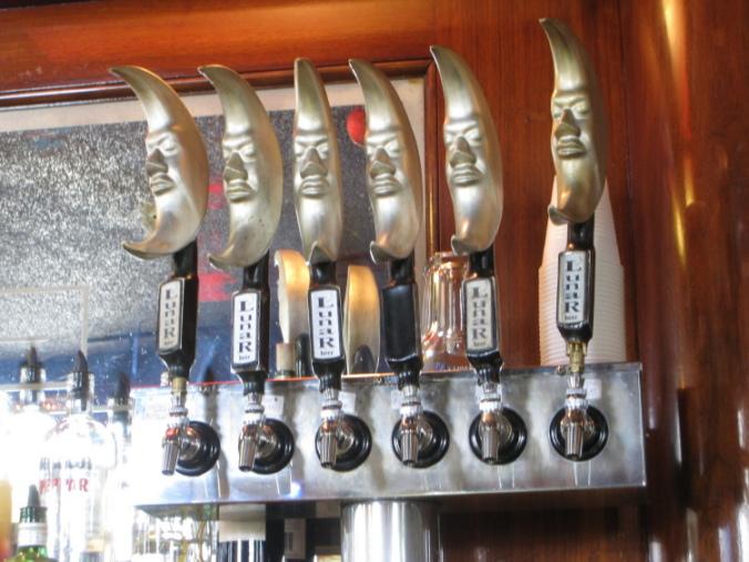Lunar Brewing tap handles