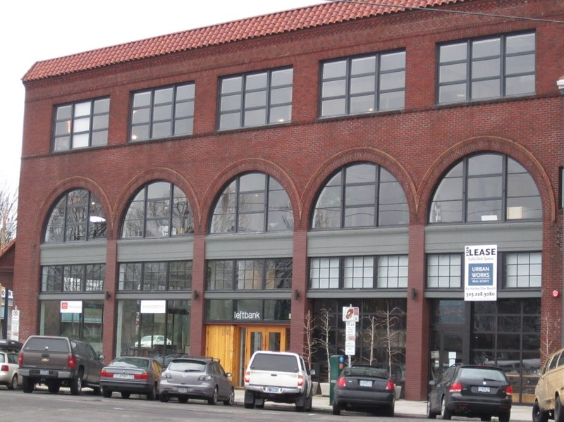 The Leftbank Building -- Upright Brewing is in the basement