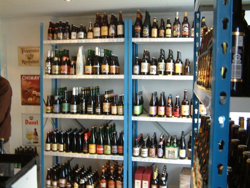 Bottles galore at Ølbutikken
