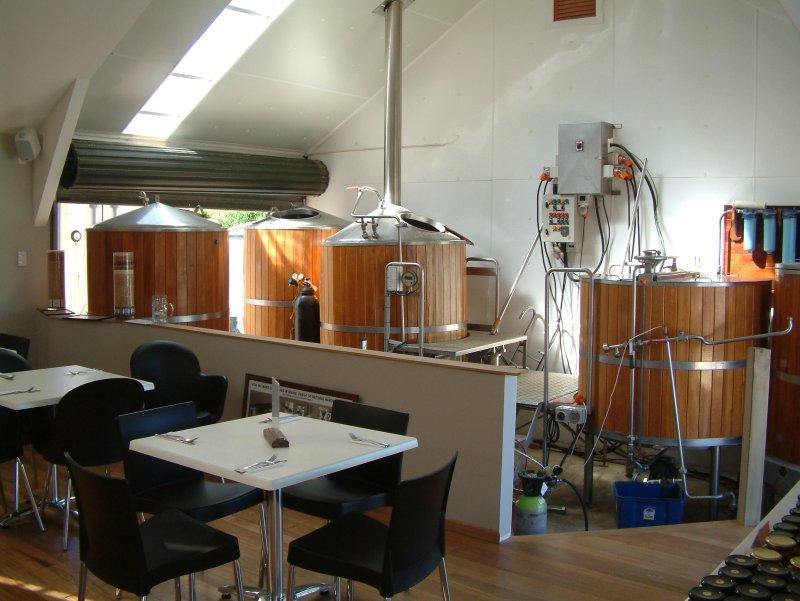 The Jester's tasting room, Onetangi Road