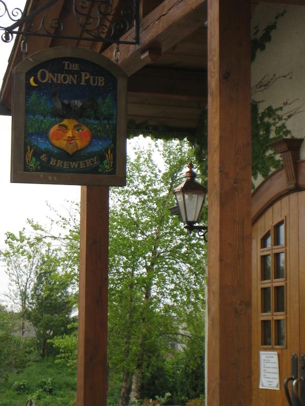 Onion Pub front entrance