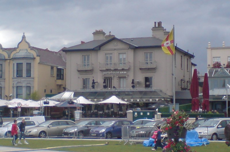 Imposing: Porterhouse on the Bray promenade