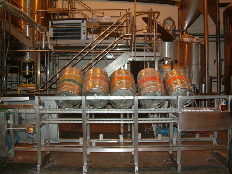 Beer in here: Porterhouse kegging line