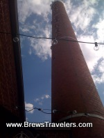 The old smokestack