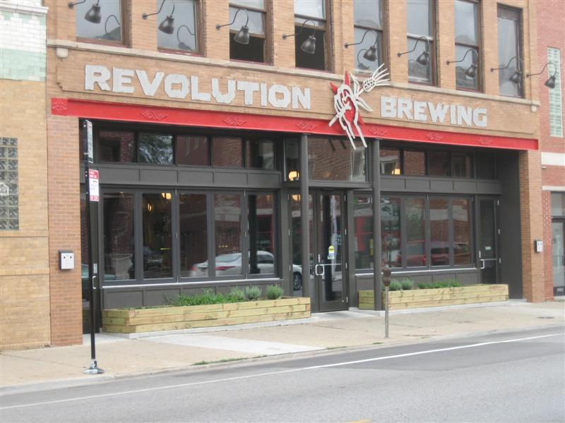The front of Revolution.
