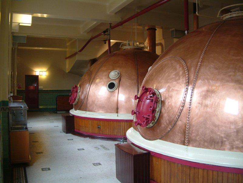 Tuns of fun: Speight's brewing floor