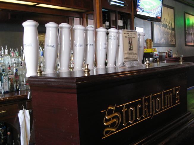 Stockholm's tap handles
