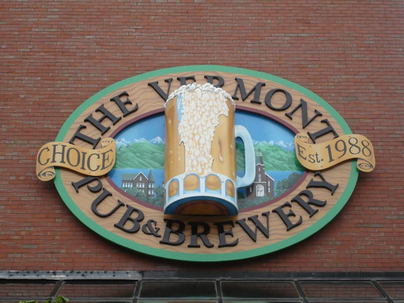 Sign above Main Entrance
