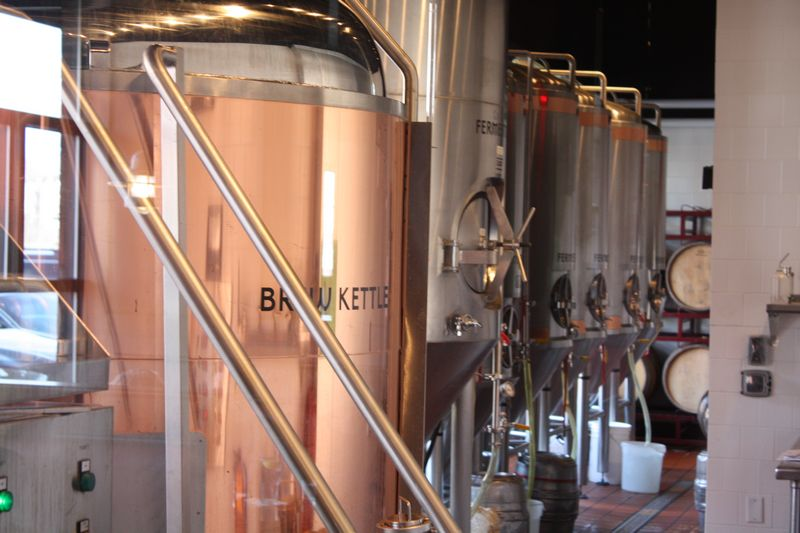 Brew Kettles and Fermentation Tanks